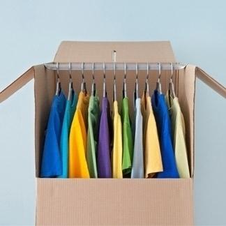 scatole abiti
